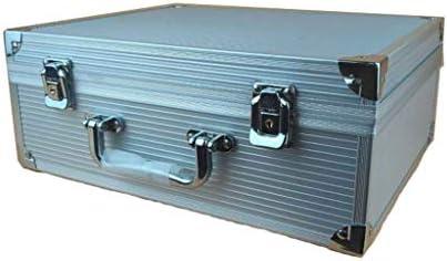 HLD アルミのタトゥーボックス多機能テクニシャンツールボックスポータブル機器ボックスタトゥーボックスアルミボックスデモンストレーションボックス ツールボックス (Color : A)