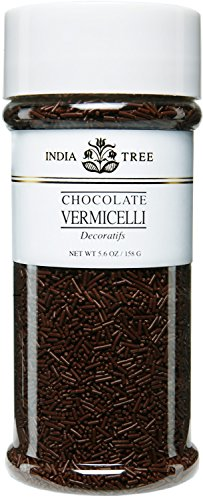 India Tree Chocolate Vermicelli, 5.6 oz (Pack of 2)