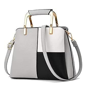 Ladies Color Matching Handbag Street Shooting Wild Shoulder Diagonal Package