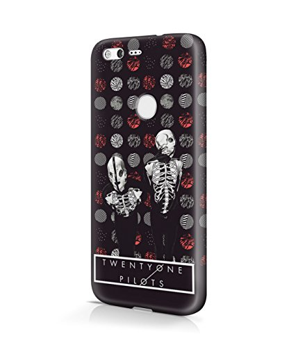 [Skeleton Costumes Twenty One Pilots Plastic Snap-On Case Cover Shell For Google Pixel] (90s Hip Hop Costume)