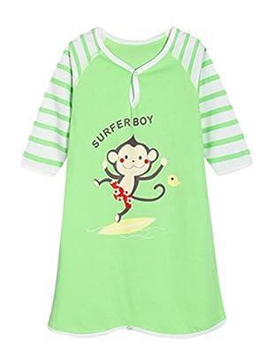 iDuoDuo 0-4 Years Baby and Kids Cute Cartoon 100% Cotton Summer Pajamas Long Sleeve Rompers