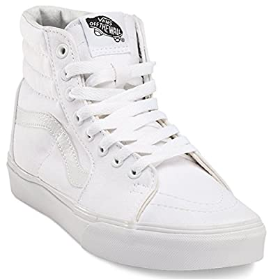 Vans Men's Sk8-Hi MTE Skate Shoe (10.5 B(M) US Women / 9 D(M) US Men, True White)