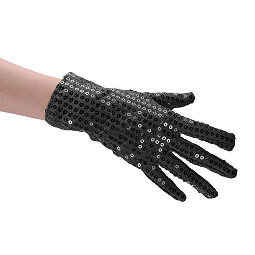 Kids Sequin Gloves for Special Occasion Use Children's Performance Gloves Costume Dress up Halloween Gloves ()