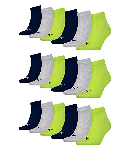 Socks 18 Mens amp; Punch Sneaker Puma Ladies 064 Quarter Pair Unisex Lime x4w7qZCw