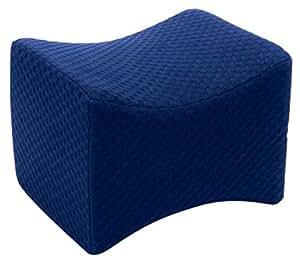 Carex Knee Pillow, Ergonomic Memory Foam Pillow for Reducing Lower Back and Leg Discomfort for Better Sleep