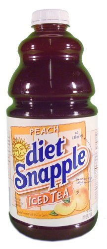 (Snapple Diet Peach Tea, 64 oz (8 Bottles))