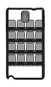 Samsung Note 3 Case Chair Bookshelf PC Custom Samsung Note 3 Case Cover Black