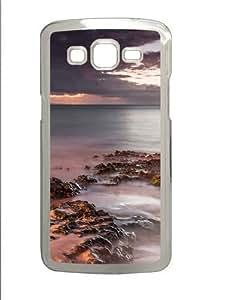 Misty Shore Custom Samsung Grand 7106/2 Case Cover Polycarbonate Transparent