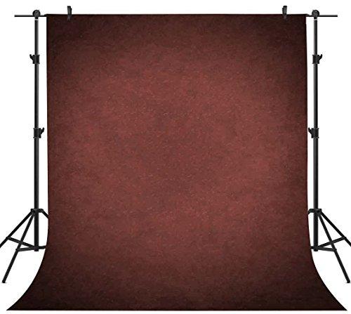 PHMOJEN 5x7ft Abstract Backdrop Photographers Crimson Retro Portrait Photography Backdrop Professional Head Shots Studio Background PPH003 ()