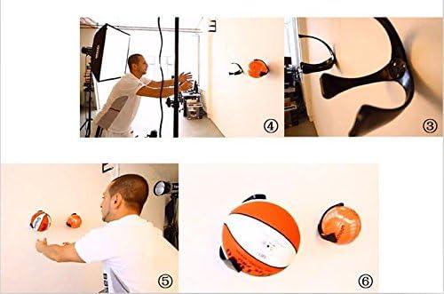 Soporte para pelota de pared deporte claw en la pared vitrina para ...