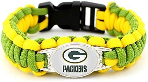 PETIDEA American Football Team Sports Bracelets
