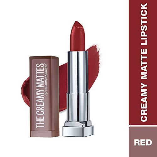 Maybelline New York Color Sensational Red Lipstick Matte Lipstick, Rich Ruby, 0.15 oz -