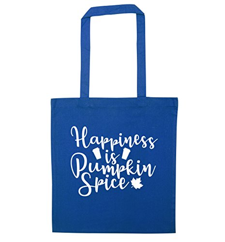 Tote Happiness is Flox Happiness Creative Bag Blue spice is pumpkin q5wZXR
