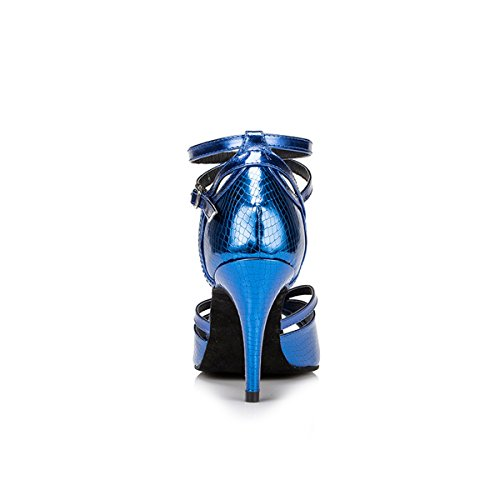 Miyoopark - salón mujer Blue-8.5cm Heel