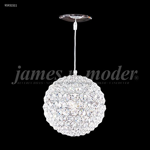 James R Moder 95931S11 Sun Sphere Europa Collection Silver ()