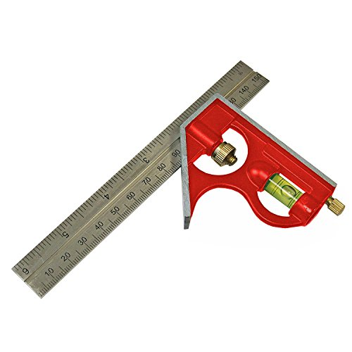 Faithfull Combination Square 150Mm 6 In - Combination Faithfull