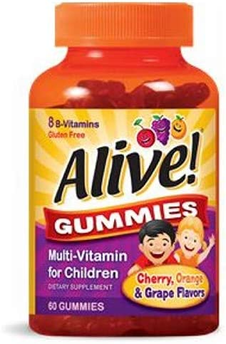 Alive Multi-Vitamin Gummies for Children 60 Each Pack of 6