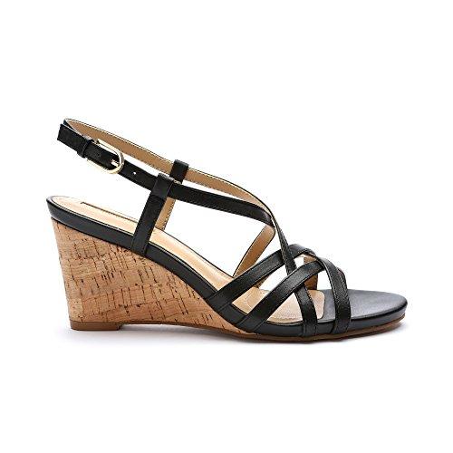 Black Wedge Tahari 6 UK Future 5 Women's Sandal TA vqXxX7tz