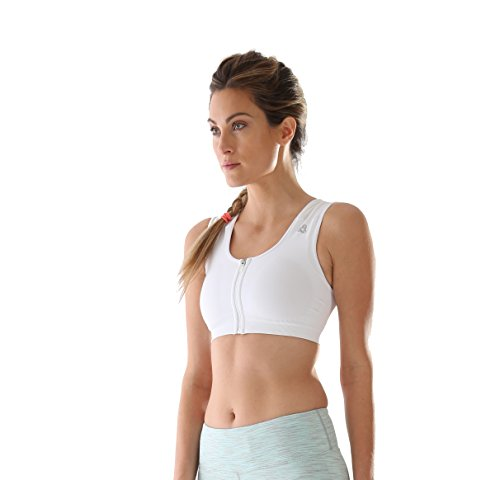 AlignMe InterActive Bra - Seamless - White - L by AlignMed
