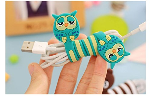 Cute Owl Cable Tie Cable Winder