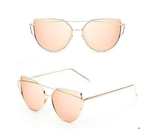 de YLLY al de de de de libre sol rosa sol gato aire viaje ojo sol coloridas personalidad Creative gafas gafas gafas Uqf6rU1w