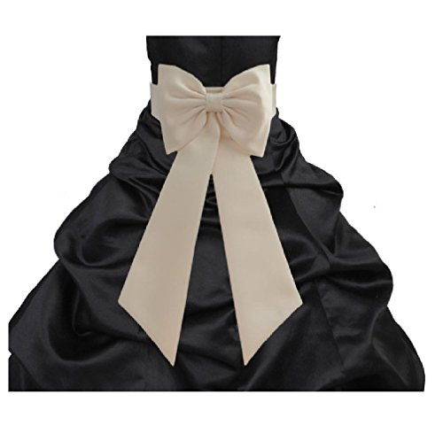 Bridal Bow - Wedding Satin Tiebow Bow Tie Sash Bridal Flower Special Occasion Decoration Pageant