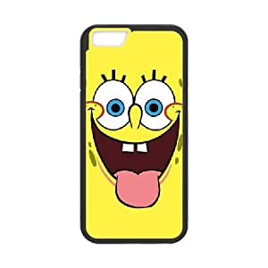 Sponge Bob iPhone 6 Plus 5.5 Inch Cell Phone Case Black yyfabd-297007