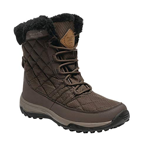 Mid Length Quilted Chocolate Regatta Lady Womens Lightweight Medley Ladies Boots PaaOvT