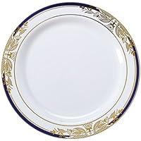 Elegantes platos de plástico duro de aspecto chino