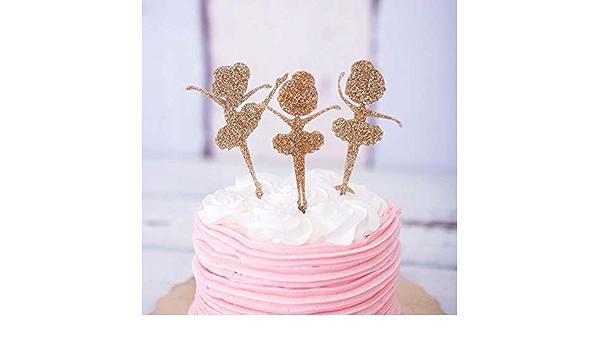 Fille Bulles soufflantes Silhouette Cake Topper 60086 en Plastique Party Decor