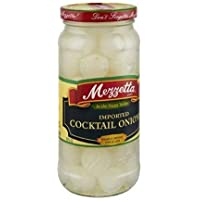 Mezzetta Imported Cocktail Onions 16 Ounce (Pack of 3)