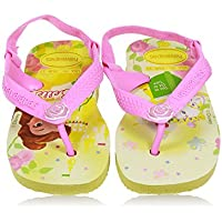 Sapatos Baby Disney Princess, Havaianas, Amarelo Pólen, 19