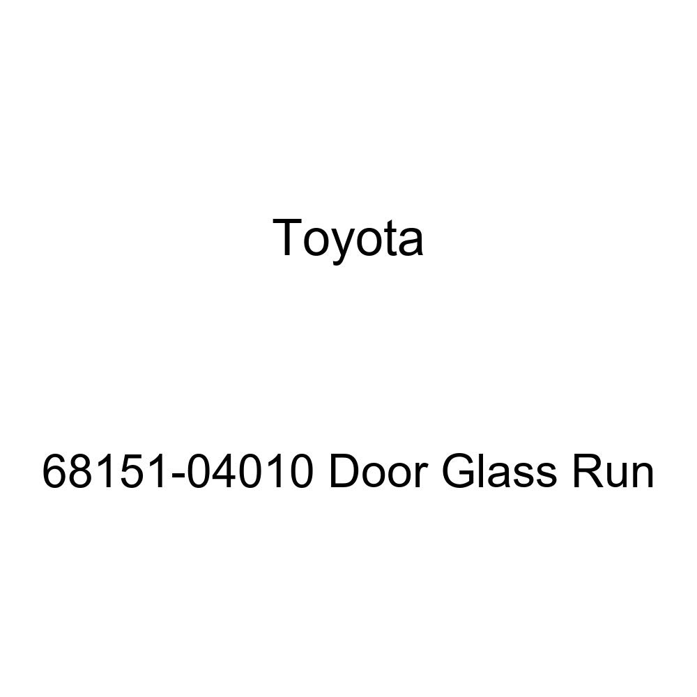 Amazon Toyota 68151 04010 Door Glass Run Automotive