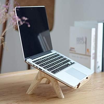 Feng Xu Soporte para computadora portátil - Madera, Estilo Natural ...