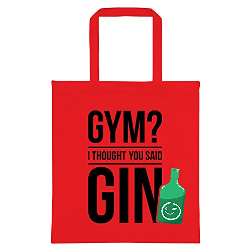 Red Said Thought Tote You Gym Gin I Bag 1t0qBnUwx