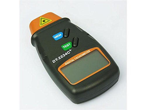 Anyaki LCD Digital Laser Photo Non-Contact RPM Teser Tachometer