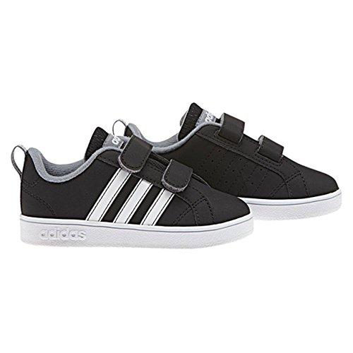 adidas VS ADVANTAGE CMF INF - Zapatillas deportivaspara niños, Negro - (NEGBAS/FTWBLA/GRIS), 19