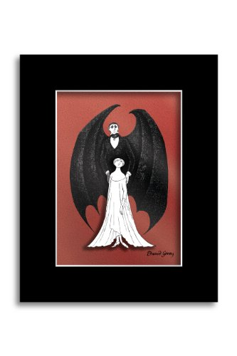 [Edward Gorey : Dracula and Lucy 3D Laser Cel] (Tony Award For Best Costume Design)