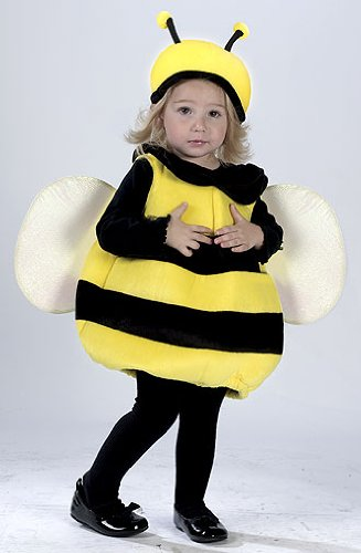 Classic Bumblebee Girls Costumes (Fun World Costumes Baby Girl's Infant Bumble Bee Costume, Yellow/Black, One Size)