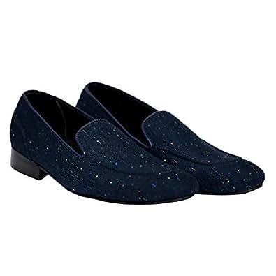 Turk & Fillmore Blue Loafers & Moccasian For Men