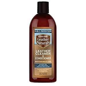 Leather Naturals Cleaner With Conditioner The Ultimate Leather Cleaner With