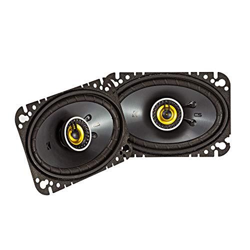 Kicker 46CSC464 Car Audio 4×6 Coaxial Full Range Stereo Speakers Pair CSC46