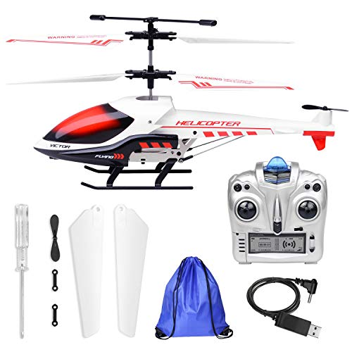 Wonderful KJZEEX 3.5 Channel Mini RC Helicopter With Stroage Bag Gyro   Best Gift For  Kids Boys