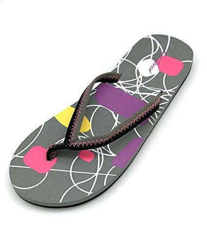 Speed Ladies Slip Beach Flip Sandal Women Just On Summer Pool Flop Grey Stylish Slim Indoor Outdoor Light Sand SqwdUE