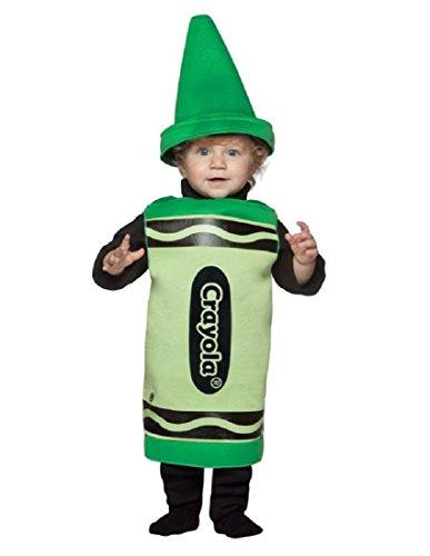 Rasta Imposta Crayola Toddler Costume, Green, 18-24