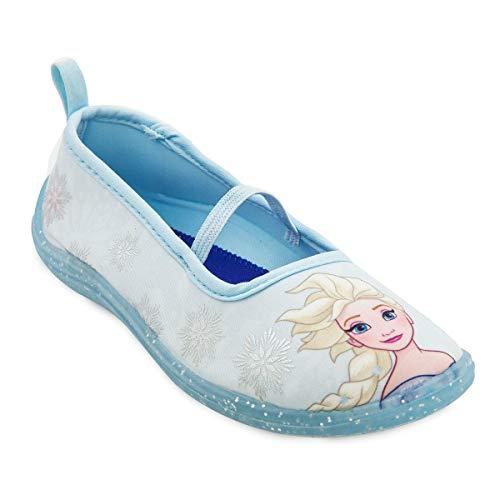 Disney Elsa Swim Shoes for Kids - Frozen Size 12 Youth Multi