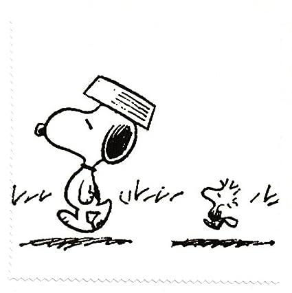 Gafas de paño de microfibra limpieza - diseño de Snoopy de creación ...