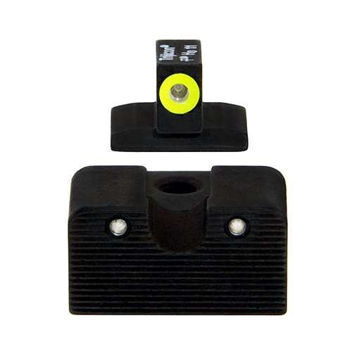 Sight Dovetail Front (Trijicon CA128Y Novak HD Night Sight Set, Low Mount Dovetail Cut, Yellow Front Lamp)