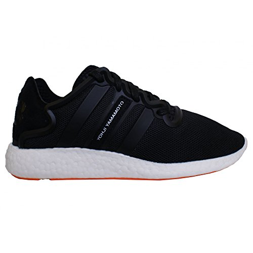 Y-3 Sneakers Yohji Run in Mesh-Textilie Schwarz Schwarz
