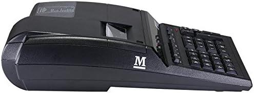 Monroe 8145X 14-Digit Printing Calculator With Foam Elevation Wedge Calculator With Foam Elevation Wedge, Black